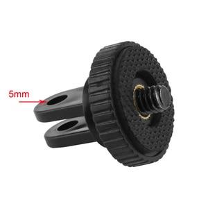 Image 2 - Kaliou adaptateur universel pour trépied avec vis 1/4 pour Gopro 6 5 4 3 + 3 2 1 Yi 4 K 4 K + SJ4000 SJ5000 H9 accessoires de montage