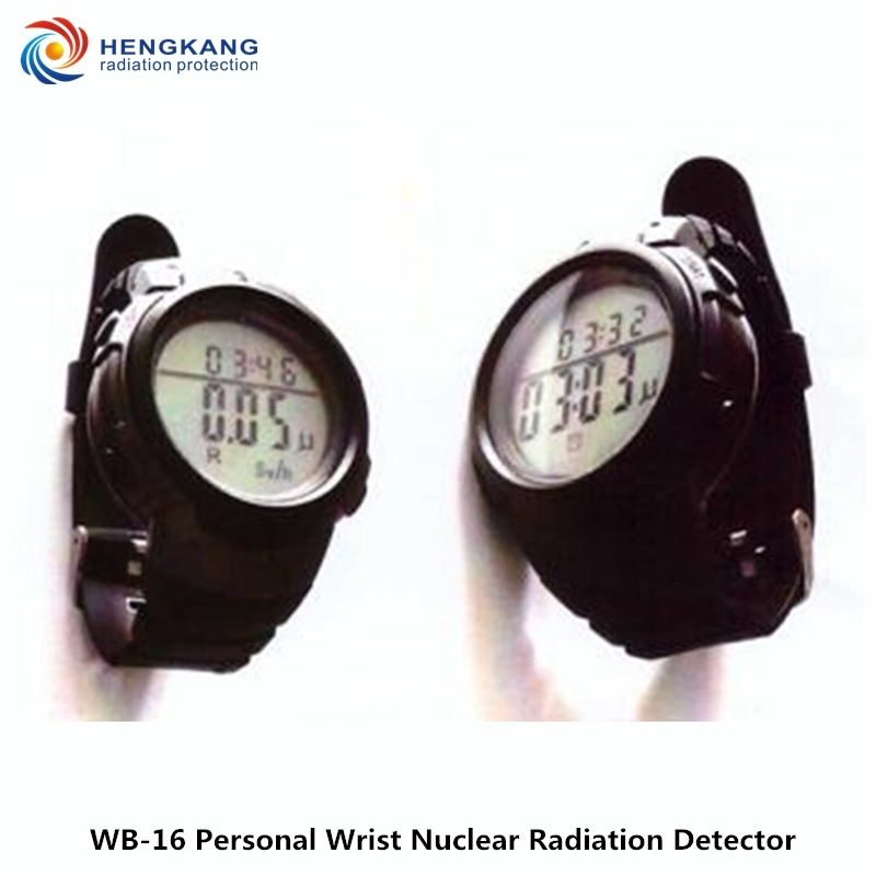 New Arrivals WB-16 Wrist Professional Nuclear Radiation Detector High Range Watch Style Gamma And X-ray Radiation Detector