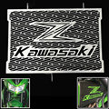 2016 nueva de acero inoxidable radiador protector de la cubierta de la motocicleta protector para kawasaki z750 z800 zr800 z1000 z1000sx