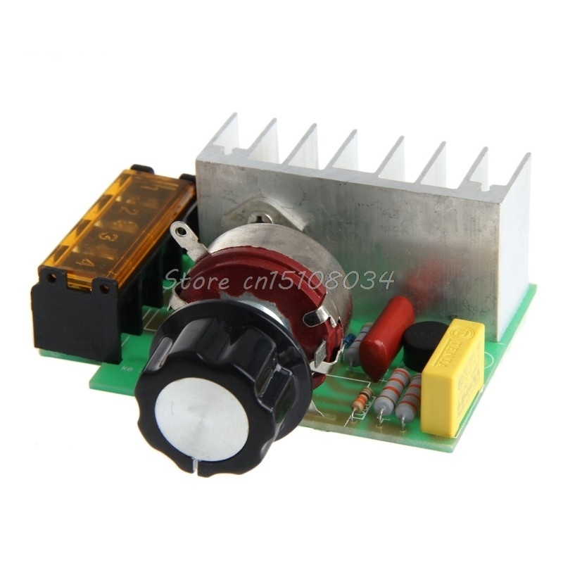 4000 W High Power Silicon Control Voltage Regulator Thermoregulation Rate New S018Y High Quality