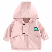 Spring Autumn Baby Outerwear 2018 New Arrival Fashion Cardigan Zipper Coat Baby Girls Boys Hooded Jacket