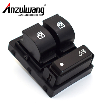 735487419 6490X9 8 Pin Door Power Window Switch For Fiat Doblo Ducato Peugeot Boxer Citroen Relay Jumper Vauxhall Combo mk3 image