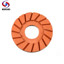 4FP1-2 Wholesale  4 50# -3000# resin bond floor diamonds polishing pad ,potable concrete dry 7Pcs/Lot