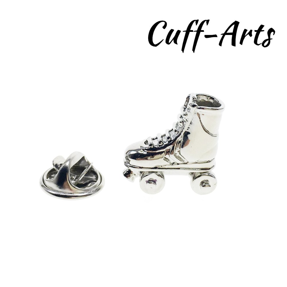 Hard-Working Roller Skates Lapel Pin Badges For Clothes Skating Shoes Rozety Papierowe Icon Backpack 1pcs Xy0326 Badges