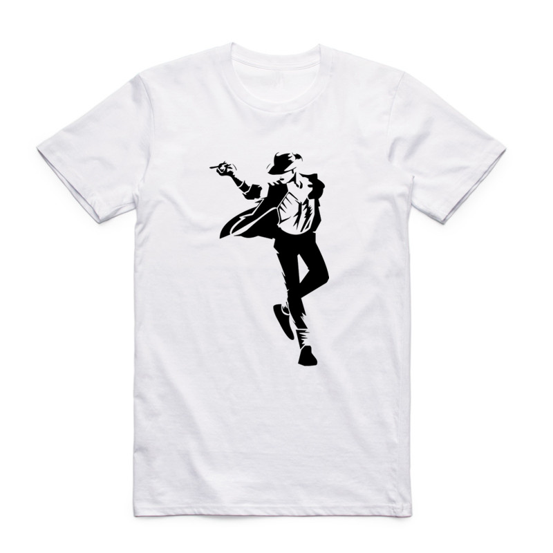 Asian Size Men Women Printing Michael Jackson The King Of Pop T-shirt Summer Casual O-Neck Short Sleeves Tshirt HCP4132