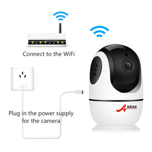 Image 4 - ANRAN Wifi 1080P HD ראיית לילה אלחוטי מצלמה תינוק צגים אבטחת מעקב מצלמה דו כיוונית אודיו אלחוטי מצלמה