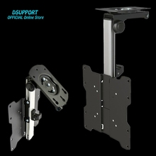 New Foldable Automobile Ceiling 14-40 inch Display LED LCD Monitor Holder TV Mount Hanger Wall Mount Rack Cupboard Mount TV Holder