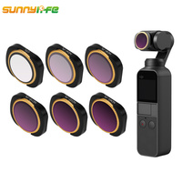 OSMO Pocket Lens Filter for DJI OSMO Camera MCUV CPL ND4 8 16 32 64 Aluminum Alloy Magnetic Filter OSMO Pocket Accessories