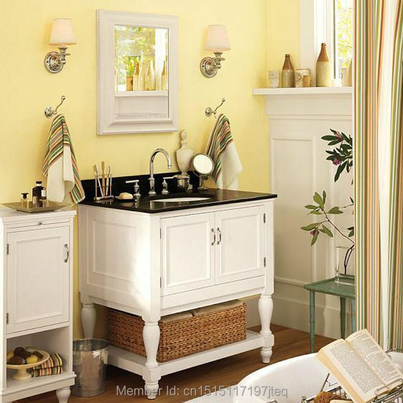 mode amerikaanse stijl eiken badkamermeubel combinatie wassen ...