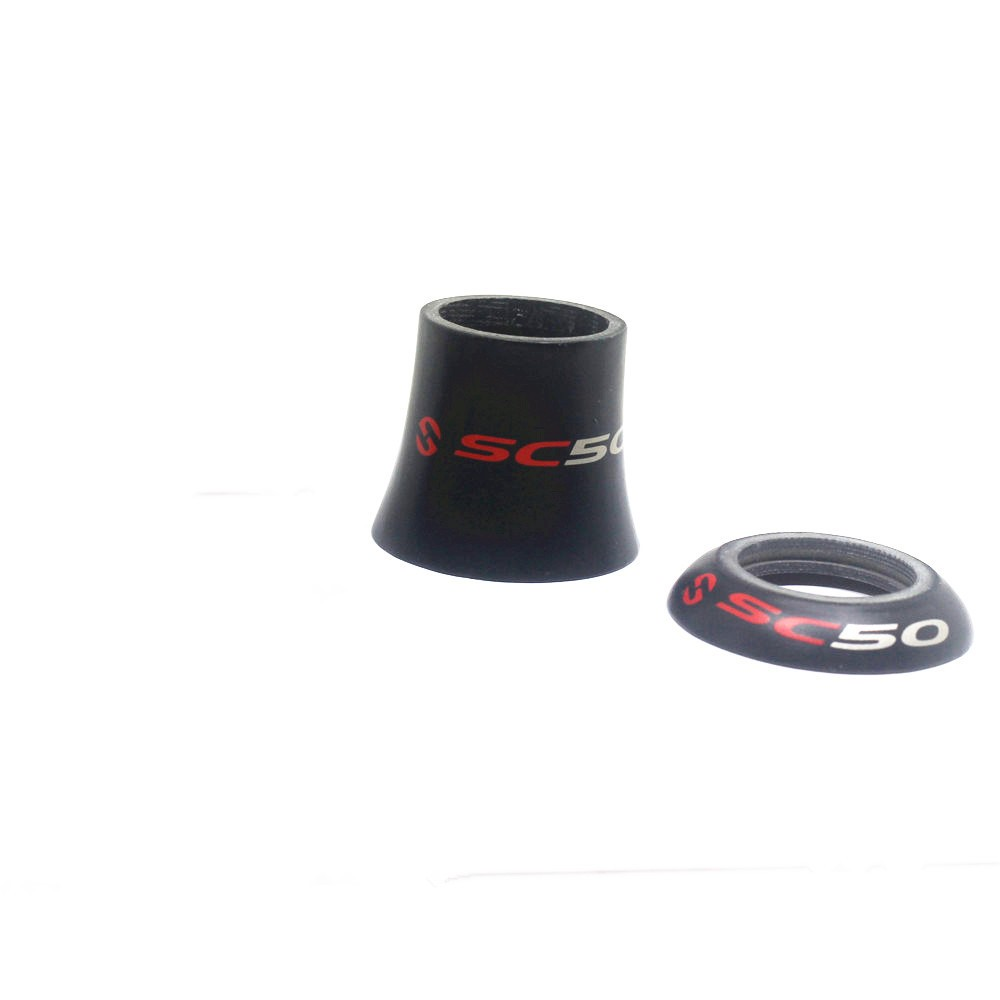 TOSEEK SC50 Mtb Bike Carbon Headset Spacer in Bicycle Headset from Sports Entertainment