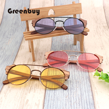 Mens sunglasses latest bamboo and wood fashion  night vision UV400 ultimate protection women