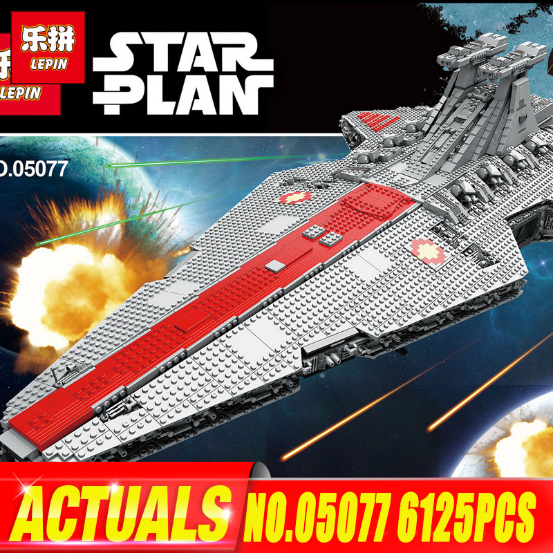 Toys & Hobbies Hearty Legoing Star Wars The Republic Fighting Cruiser Set Starwars Model Building Blocks Boys Toys Gifts Compatible Legoings Starwars Quality First