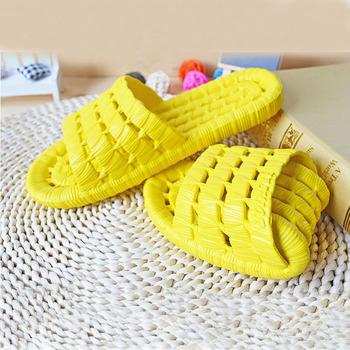 Płaskie buty mężczyźni lato antypoślizgowe klapki domowe kapcie męskie pantofle wygodne nowe mężczyźni kryty podłoga Zapatillas de hombre # 3C tanie i dobre opinie TECHOME Indoor RUBBER Stałe Pasuje prawda na wymiar weź swój normalny rozmiar Dla dorosłych 45815751529 Wiązanej krzyżowe