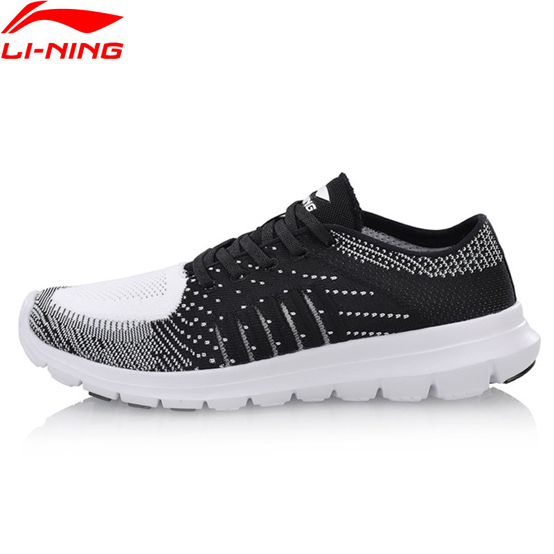 Li-Ning Men's Smart Running Shoes Air Mesh Comfortable Fitness Li Ning Sports Breathable Sneakers LiNing ARKN007 Z022
