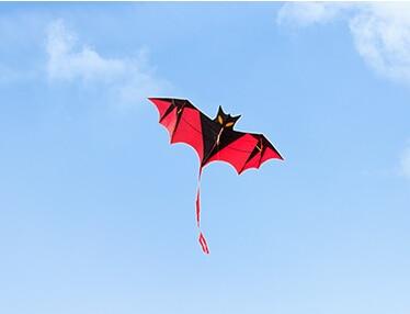 Стиль bat кайт 10 шт./партия Лидер продаж высокое качество с ручкой линии детский воздушный змей китайский кайт нейлоновая нить