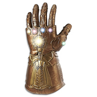 1:1 Thanos Infinity Gauntlet with Lights and Sounds Cosplay Gloves Electronic Fist Marvel Toys