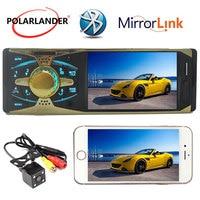 Autoradio 4 inch HD TFT screen car radio bluetooth MP3 MP4 MP5 stereo audio player 1 DIN radio cassette player in dash