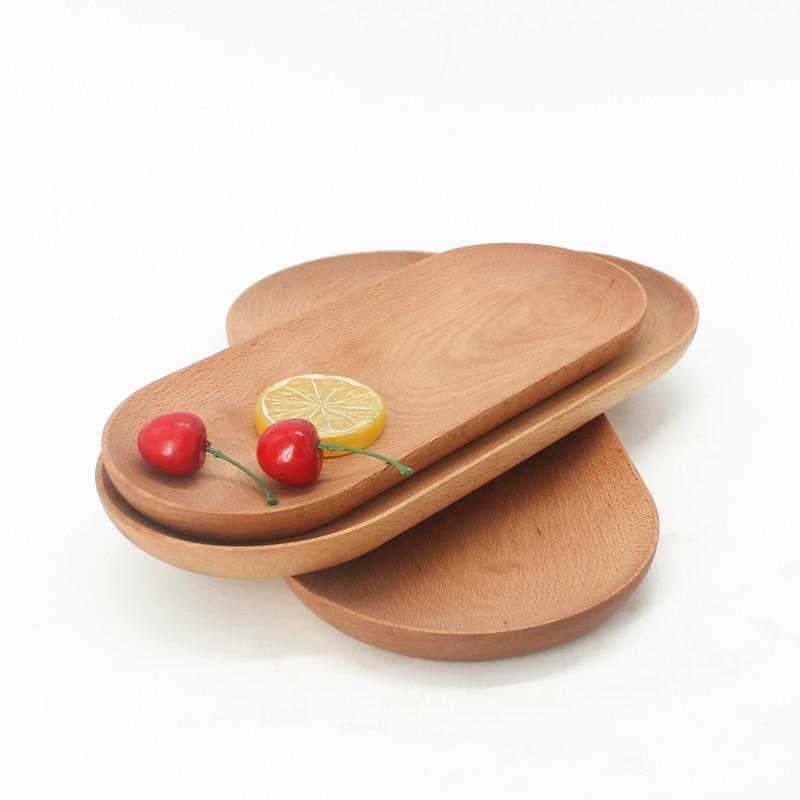 Wooden Tableware Black Walnut Belt Handle Hanging Breadmaker Pizza Dessert Tray Wholesale Custom Kitchen Tableware пуф wooden круглый белый