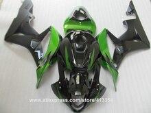Fairing kit for Honda injection molding CBR600RR 07 08 green black motorcycle fairings set CBR 600RR 2007 2008 09NT