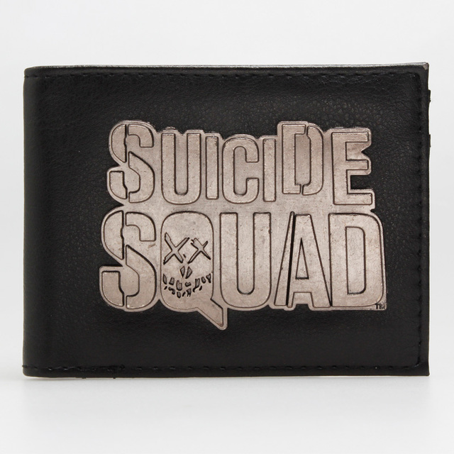 Бумажник Отряд Самоубийц эмблема модель №9