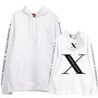 New arrival kpop shinee jonghyun x inspiracja koncert sam druk polar/cienkie bluzy z kapturem unisex modna sweter bluza