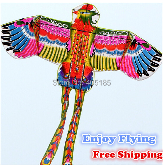 2015NEW Outdoor Fun Sports Power Phoenix / Animal Kites With Handle And String Good Flying Free Shipping