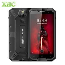 "HOMTOM ZOJI Z8 IP68 A Prueba de agua Smartphone 4 GB + 64 GB 5.0 ""Android 7.0 Octa MTK6750 Dual SIM 4G Teléfono Móvil de Huellas Dactilares ID OTG OTA"