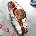 Relogio Feminino Wolfram Uhr Für Frauen Rose Gold Farbe Wasserdichte Quarz Luxus Dame Uhr anzug für Kleine Handgelenk