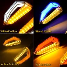 2PCS 12V LED Motorcycle Turn Signal Light Motorbike Indicators Blinker Yellow Blue Colors Lighting 34 LEDs Moto Turn Signals motorcycle led flush mount turn signals blinker light