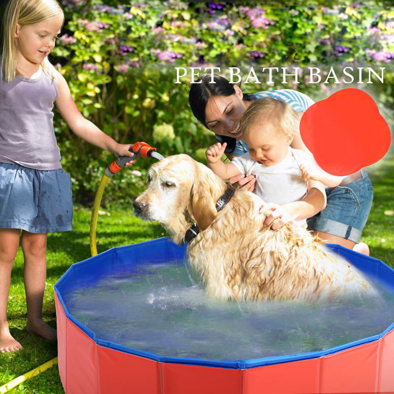 Hoopet pet products large pvc foldable swimming pool for Prix grande piscine
