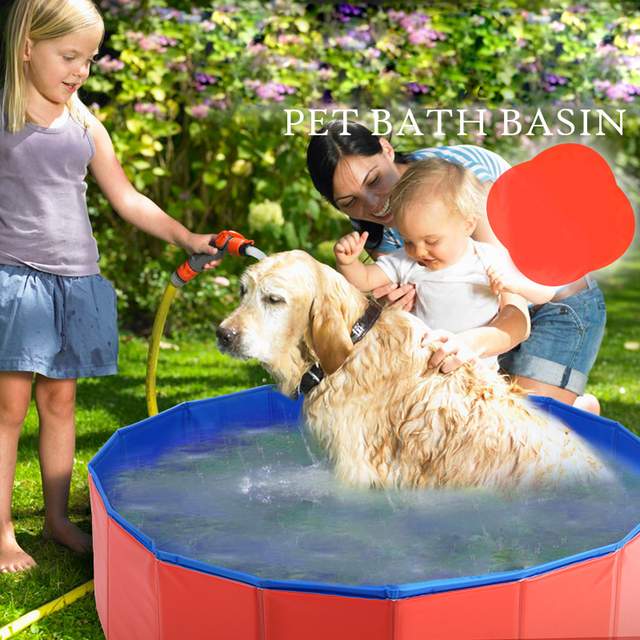 Hoopet pet products large pvc foldable swimming pool for Piscine x cani