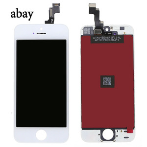 Image 2 - Voor Iphone 5 5s Lcd scherm Voor Iphone 5 5s Touch Screen Digitizer Vergadering Vervanging Lcd 5S A1457 A1528 a1518 Touch Panel