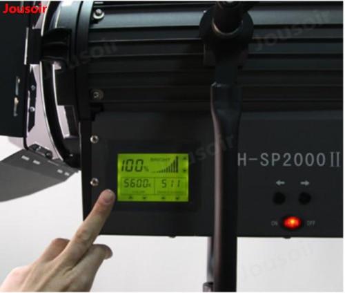 Projecteur de mise au point électrique CD50 T07 de Film de focalisation de température de couleur réglable de puissance élevée de projecteur de 200 WLED - 3