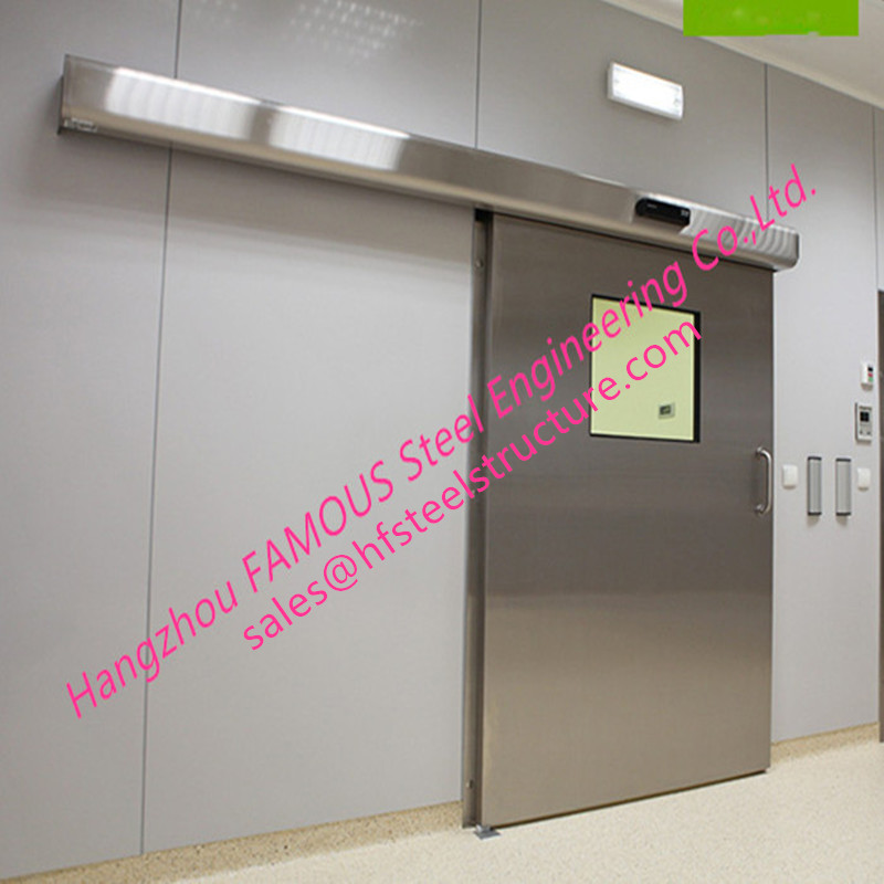 Lightweight Stainless Sliding Door Smart Access System With Polyuethane Core Door Panel