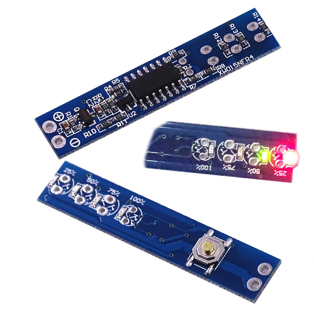 1 s 2 s 3 s 4 s Lithium Batterij Capaciteit Indicator Meter Power Level Tester LEDs Displaypaneel voor 18650 Li-Ion Lithium