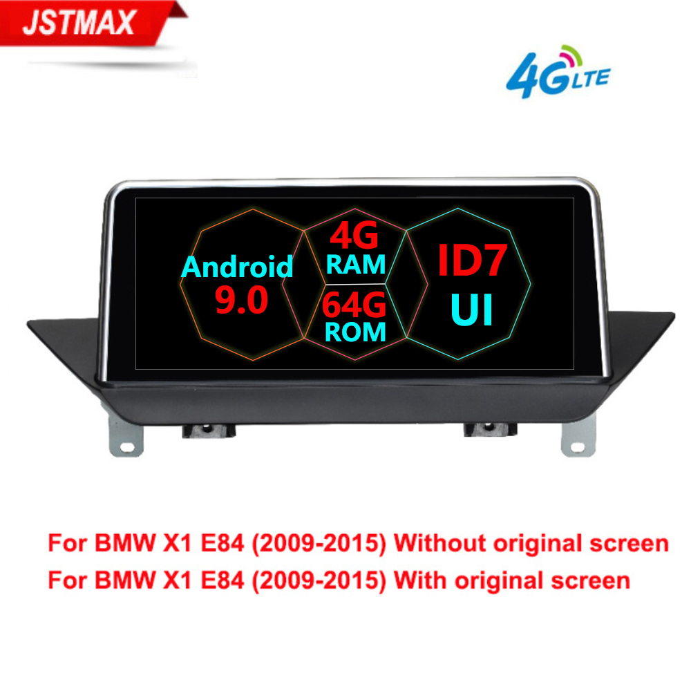 Android 9.0 8Core Car radio player For BMW X1 E84 2009 2010 2012 2013 2014 2015 iDrive CIC GPS Navigation Multimedia 4G LTE WIFI