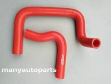 Mangueira do radiador de silicone para datsun 1200 1000 120y b210 ute vermelho