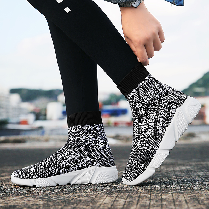 93926bb08b Hot Sale] Newest Unisex Sock Sneakers High Top Running Shoes Men ...
