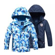 Kids Clothes Children Outerwear Warm Polar Fleece Coat Hoode