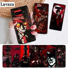 Lavaza Anime Hellsing Alucard Fan Silicone Case for Samsung S6 Edge S7 S8 Plus S9 S10 S10e Note 8 9 10 M10 M20 M30 M40 hellsing alucard cosplay red mens hellsing cosplay costume