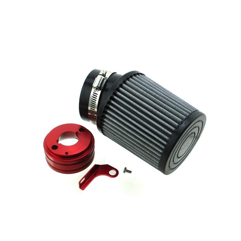 Luftfilter Adapter Kit Für 6.5HP Honda Clone GX160 GX200 Go Kart Predator 212cc