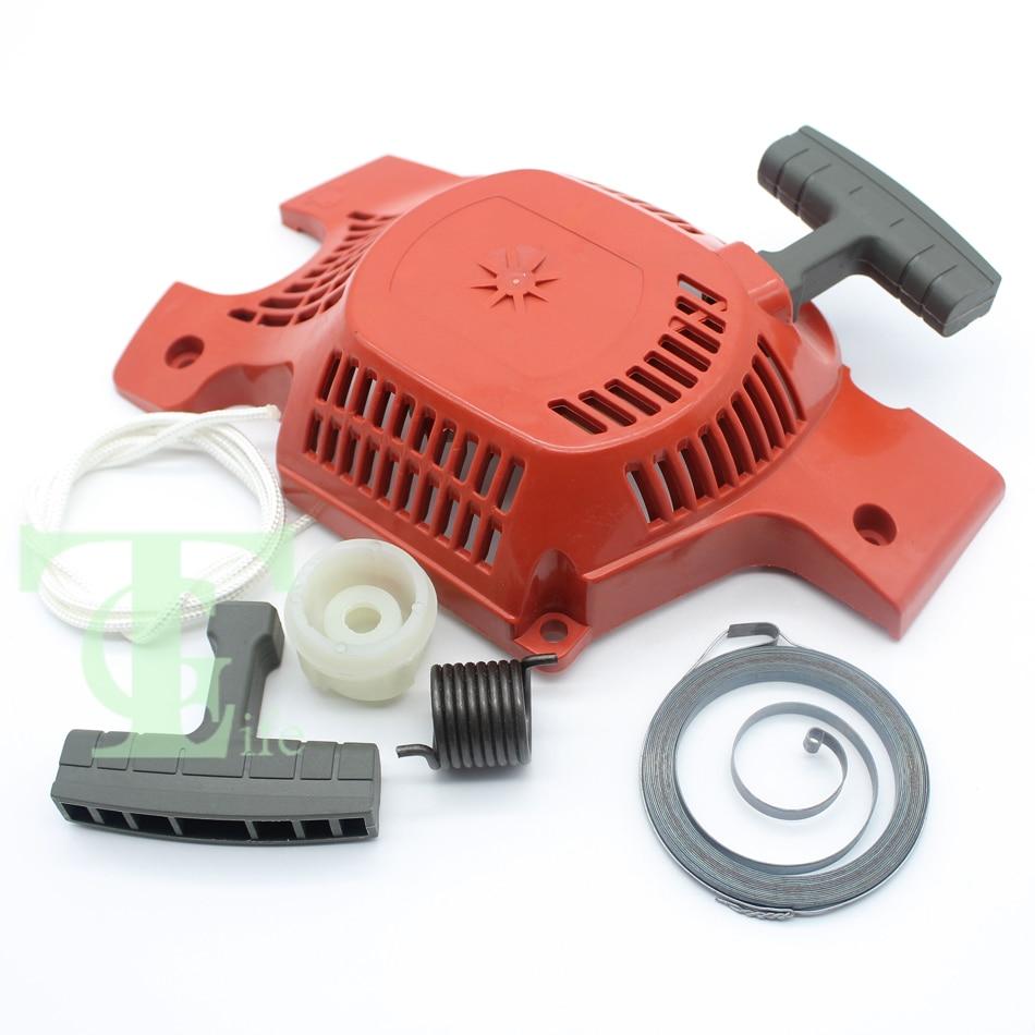 husqvarna e137 - Recoil Starter Handle Hub Spring Kit For HUSQVARNA 142 141 137 136 Chainsaw Parts