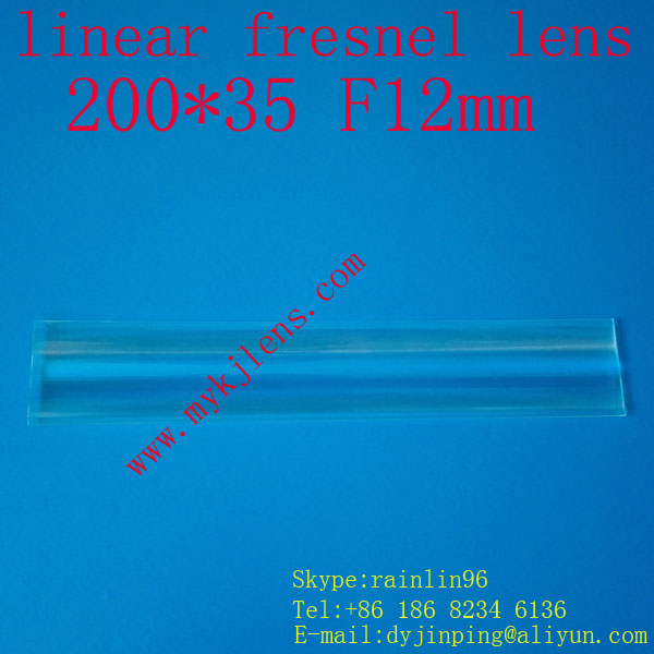 200 * 35mmF12mm lineární fresnel objektiv pro dopravu bez - Měřicí přístroje - Fotografie 5