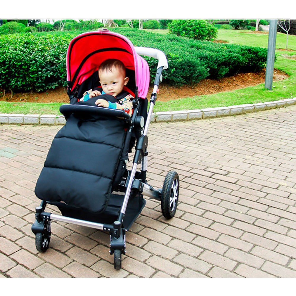 Windproof Babies Sleeping Cold-proof Stroller Mat Cover Pushchair <font><b>Car</b></font> Auto <font><b>Seat</b></font> Breathable Warm Cover Mat Accessories for Baby