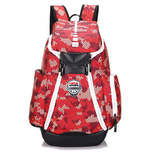 3d43a37bda8b 2018 Fashion backpack USA Dream team Durant teenagers High capacity  backpacks for women man nylon schoolbags