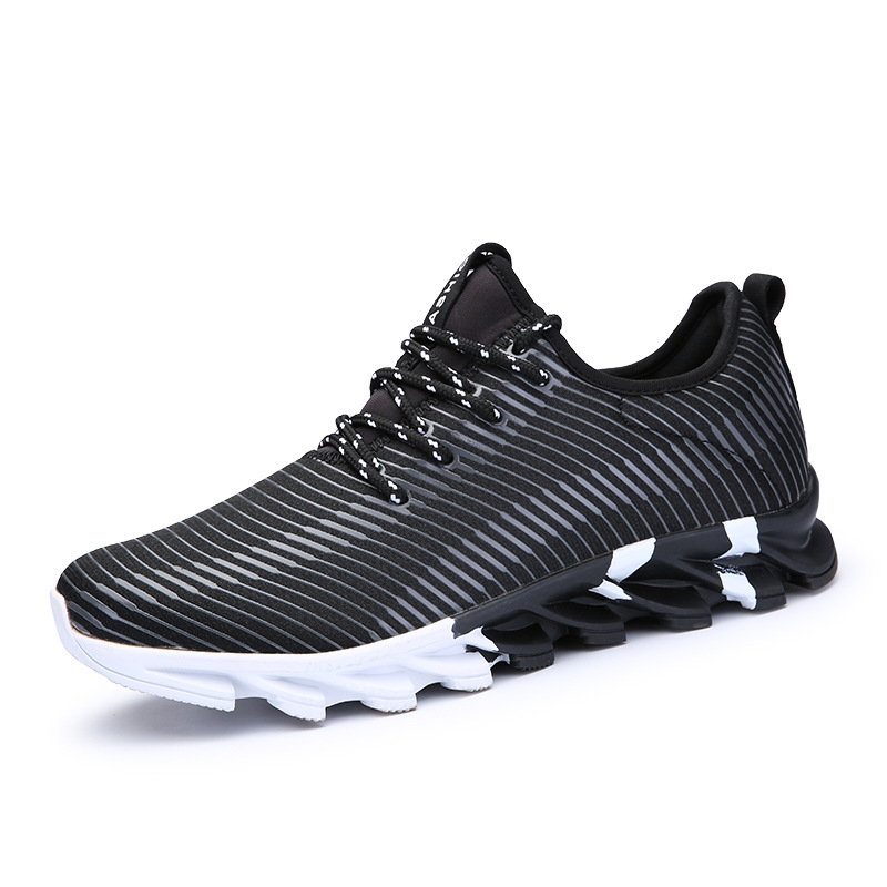 2017New Hot Light Running Shoes For Men Breathable Outdoor Sport Shoes Summer Cushioning Male Shockproof Sole Athletic Sneakers