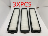 3 PCS Replacement H11 Original HEPA Filter For LG Hom Bot VR6270LVM VR65710 VR6260LVM VR Series