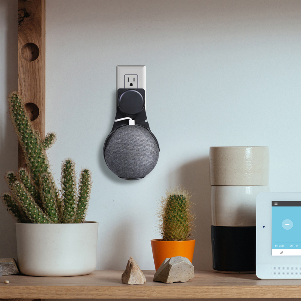 For Google Home Wall Mount Mini Voice Assistant Compact Wall Mount ...