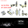 18pcs LED Canbus Interior Lights Kit Package For Audi A4 S4 RS4 B7 (2005-2008)
