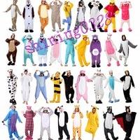 Wholesale Unicorn Stitch Unisex Flannel Hoodie Pajamas Costume Cosplay Animal Onesies Sleepwear Men Women Adults Free